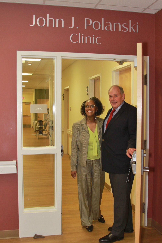 John, Dr. Draddy Clinic.JPG