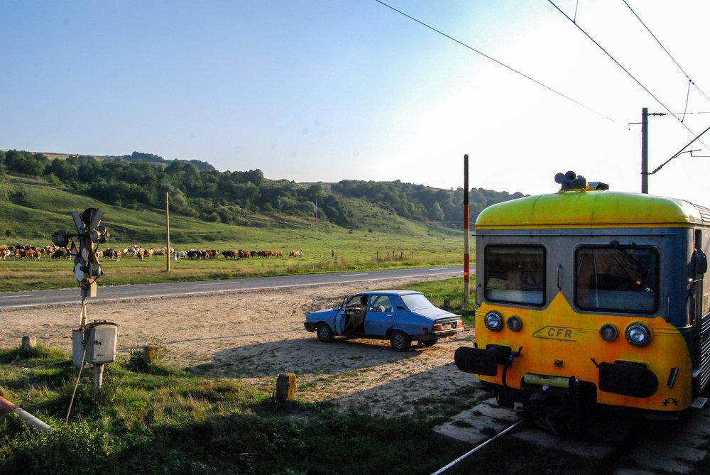Railroad Crossing, Romania | 2010