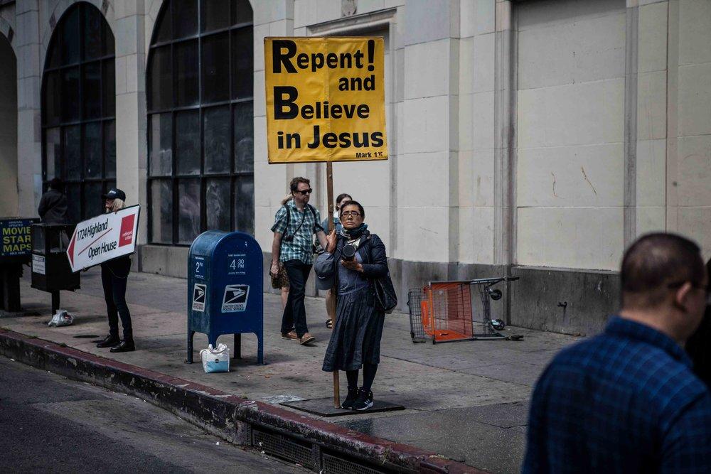 Los Angeles, Hollywood Boulevard   2017