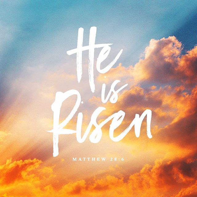 HE'S ALIVE!! #HappyEaster #GloriousDay #JesusNeverFails