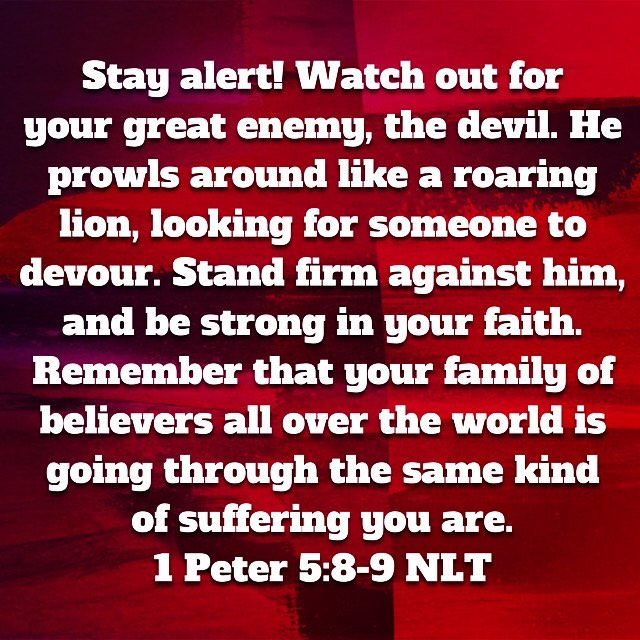 Great reminder for the Monday after camp.  Last week was AWESOME so the enemy will want to squash it.  STAND STRONG—-TOGETHER!  #HillsAndValleys #FAMILY