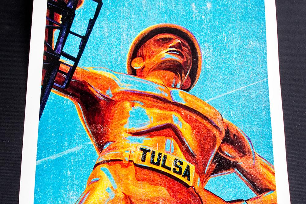 Original Art printed on UltraDigital Polycotton Canvas
