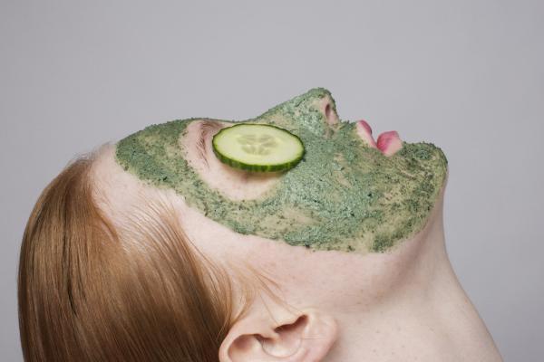 Masque au basilic