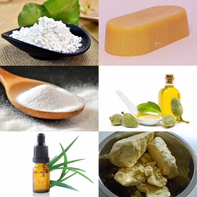 Ingrédients déodorant homemade