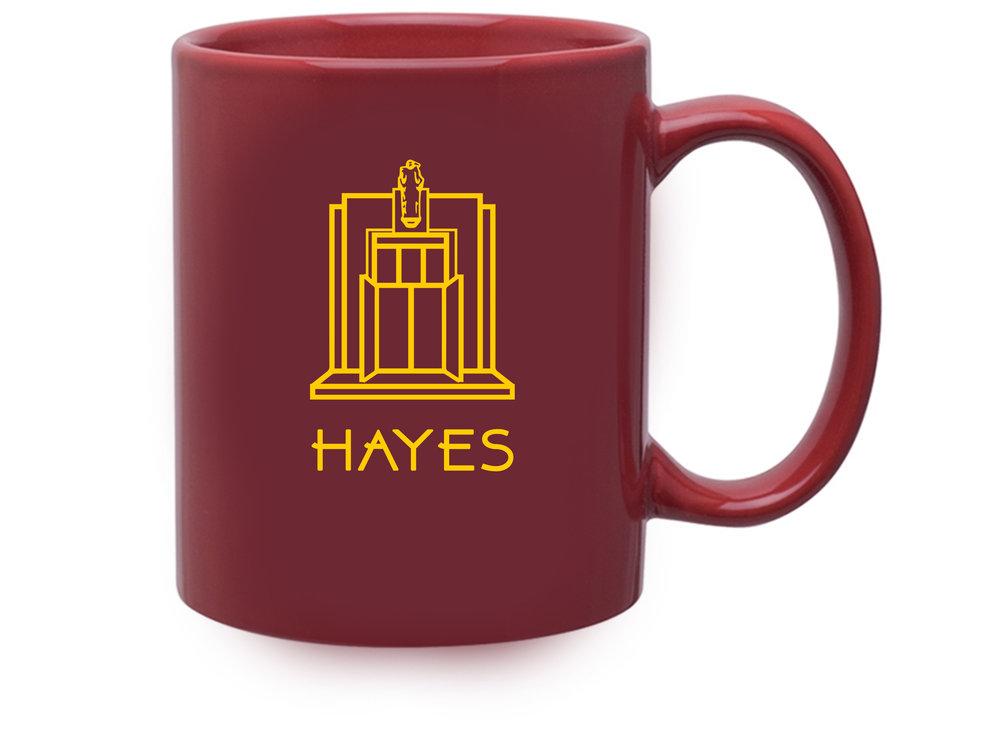 HAYES Mug - 10.99