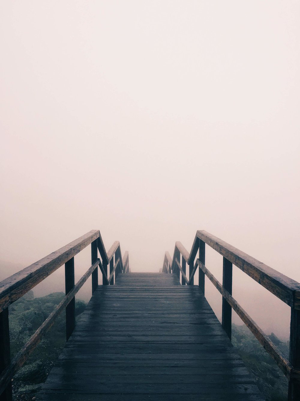 How might we help students be less afraid of the fog and be more wiling to take one step at a time?