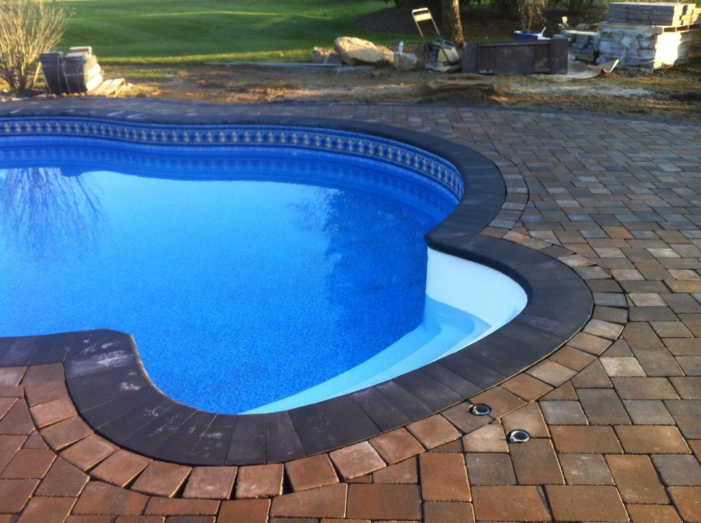 Custom Pool with EP Henry Paver Decking and Coping