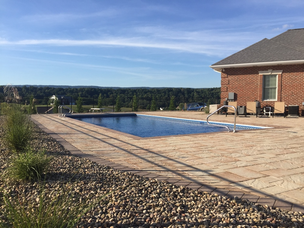 Custom Pool with EP Henry Hardscape Decking