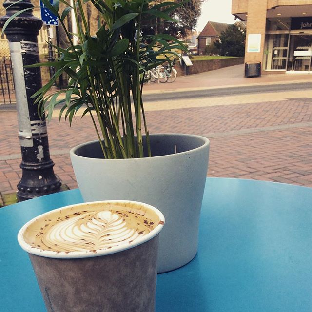 There's still some sunshine left to enjoy. Grab a cappa and savor it #springiscoming