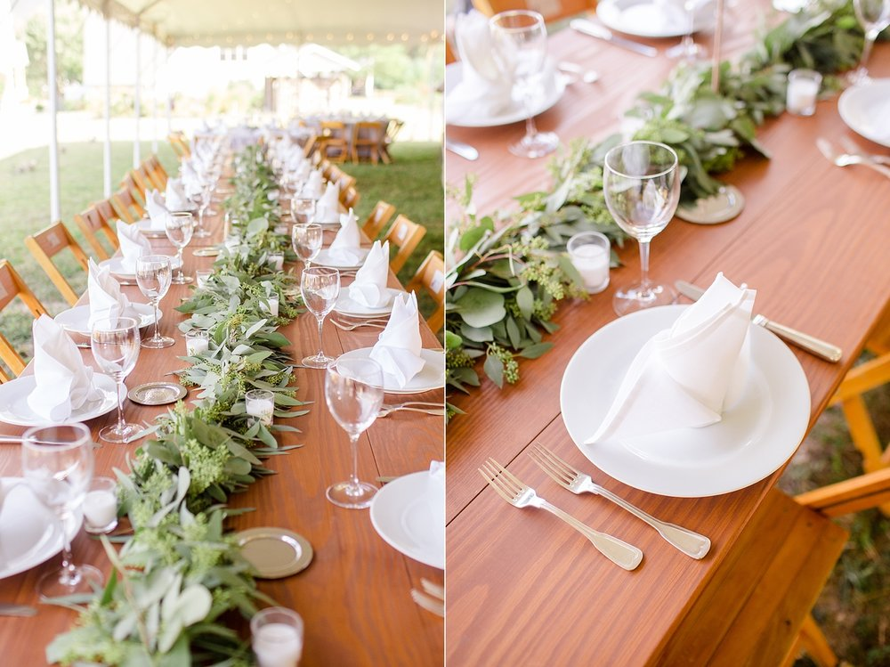 These reception details were SO perfect!