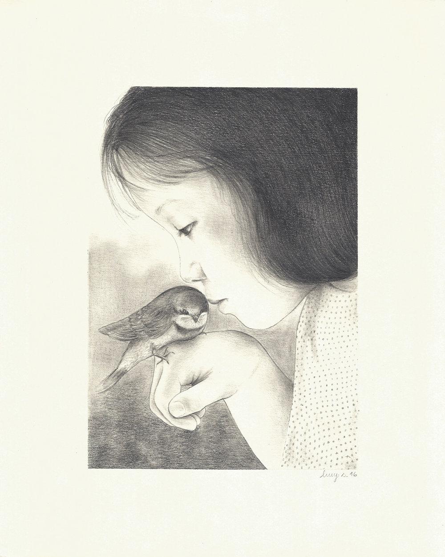 Girl_and_the_bird_Lucy_Salgado