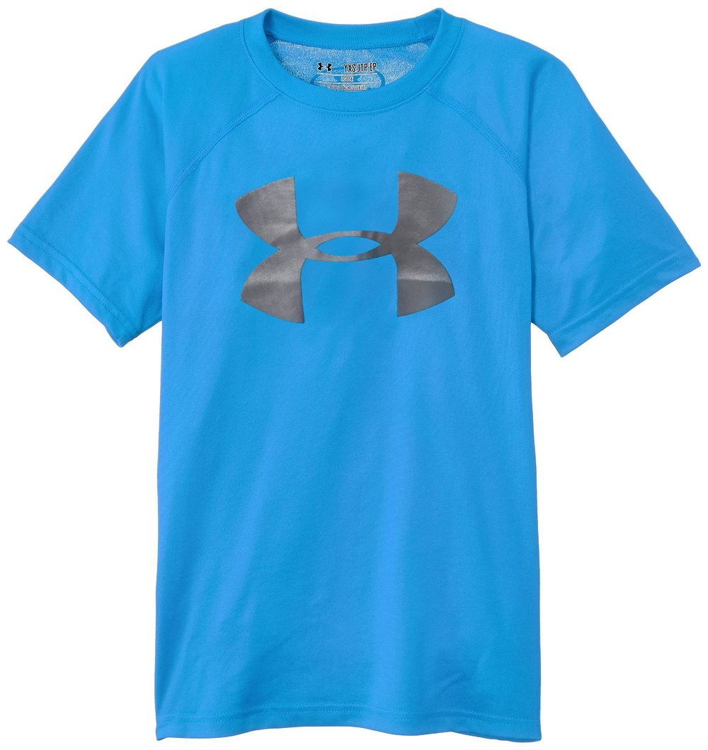 8517d8238907 Under Armour Boys Big Logo UA Tech T-Shirt. 91ycaGxQ3ML. SL1500 .jpg