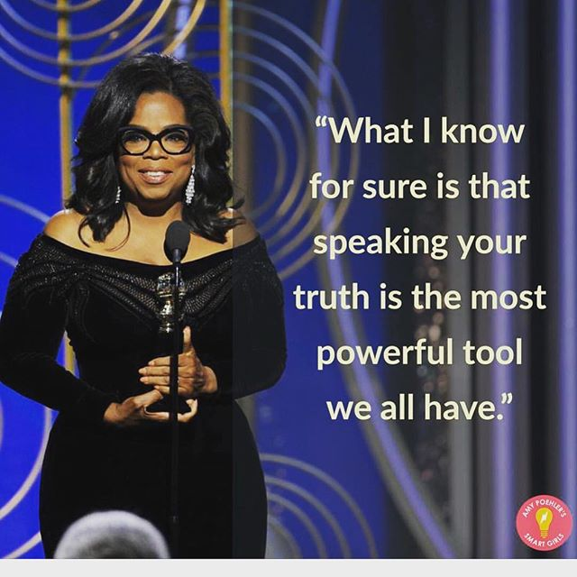 🙌🙌🙌🙌🙏🏻✨ My North Star for 2018 . . . . . #Oprah #Goldenglobes #women