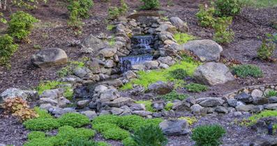 Water Garden Designs by Tharpe