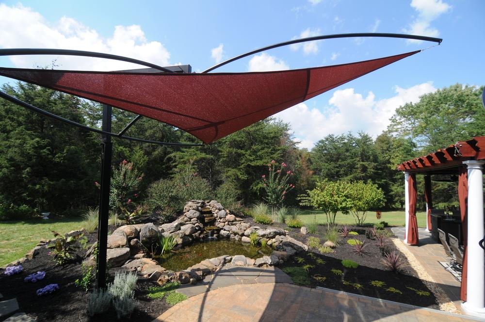 Outdoor Living Water Garden Designs by Tharpe