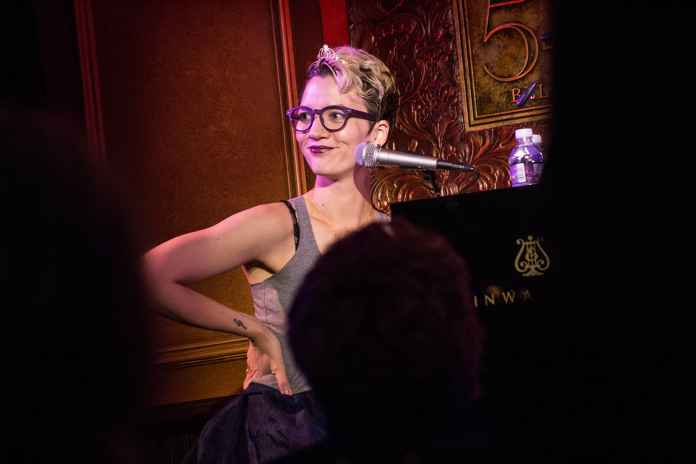 Pearl Rhein in Books & Instruments 11/2017