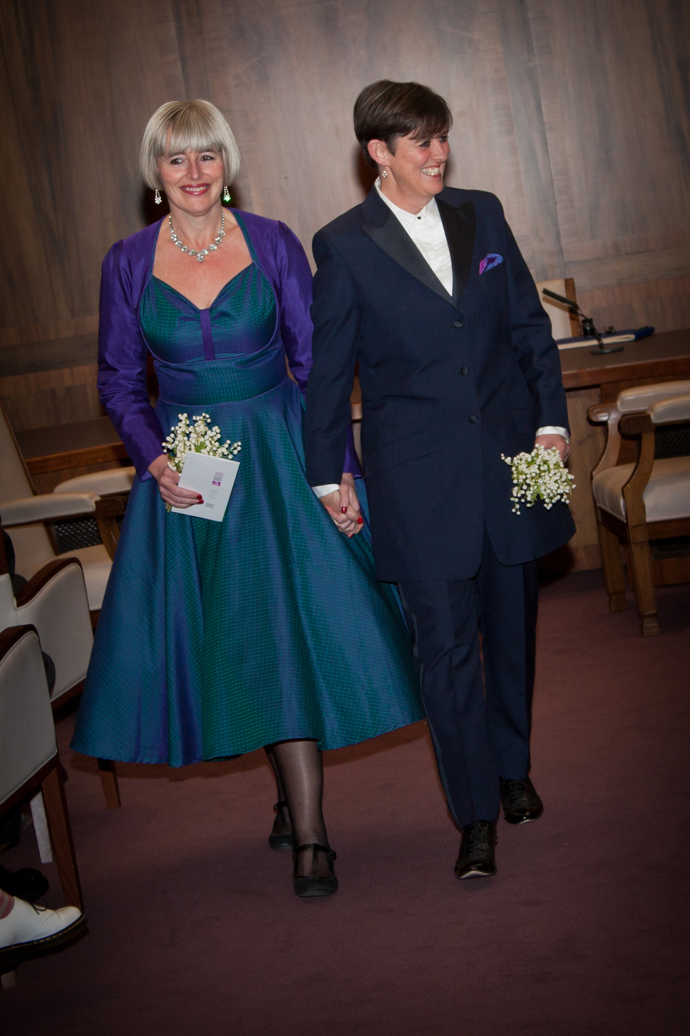 Ladies tailoring susannah hall tailors for Lesbian wedding dresses and suits