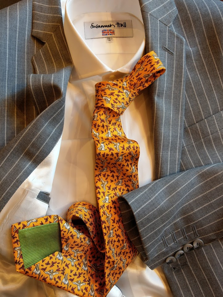 grey-chalk-stripe-harrisons-susannah-hall-tailors-british-made-shirt-augustus-hare-tie-suit-bespoke.jpg