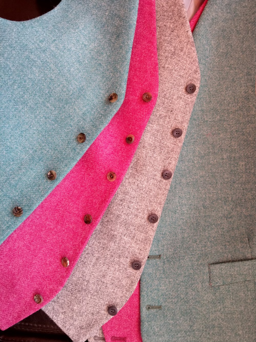 pink-waistcoat-vest-grey-teal-tweed-moon-british-made-susannah-hall-tailor-bespoke.jpg