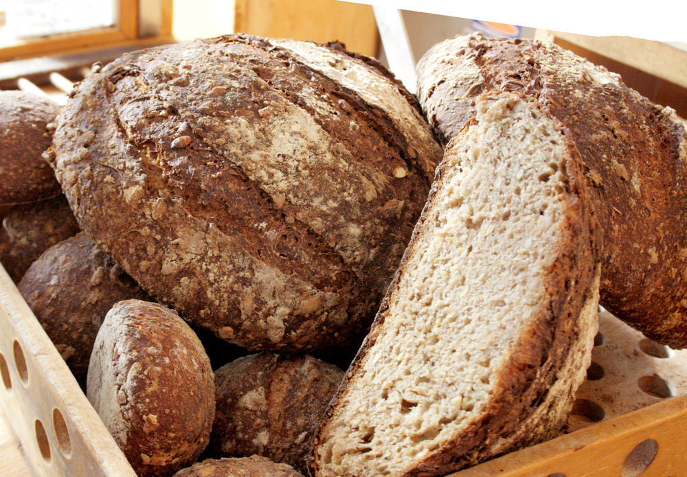 Fresh Bread - Handcrafted daily by our experienced bakers, available for wholesale as well!