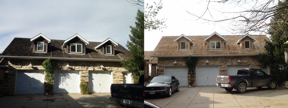 Dennis Garage Front Before & After.jpg