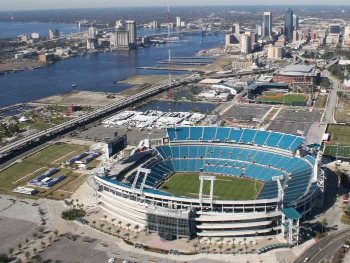 Alltell Stadium  Jacksonville, Florida $122 million stadium Seats: 73,000-82,000 Suites: 96