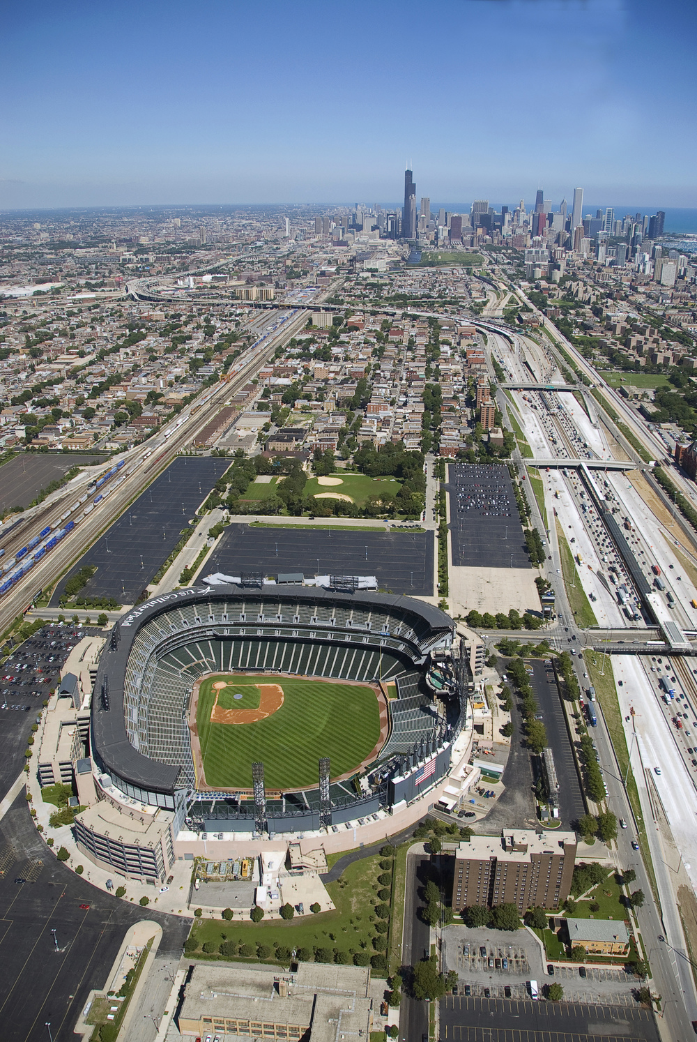 US Cellular Field  Chicago, Illinois $135 million stadium Seats: 44,000 Suites: 119