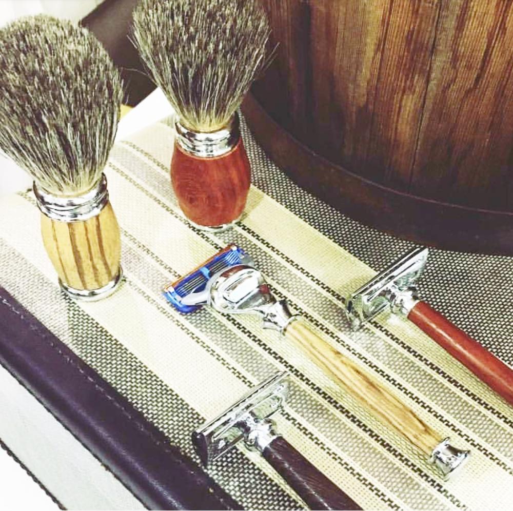 Handmade shaving collection-Recherche Organics