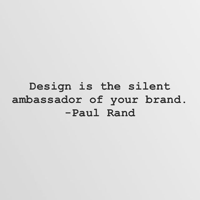 #thoughts 💻 Design is the silent ambassador of your brand. -Paul Rand #FRlifestyle www.fieldrations1945.com