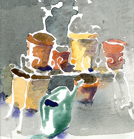Akvarell.