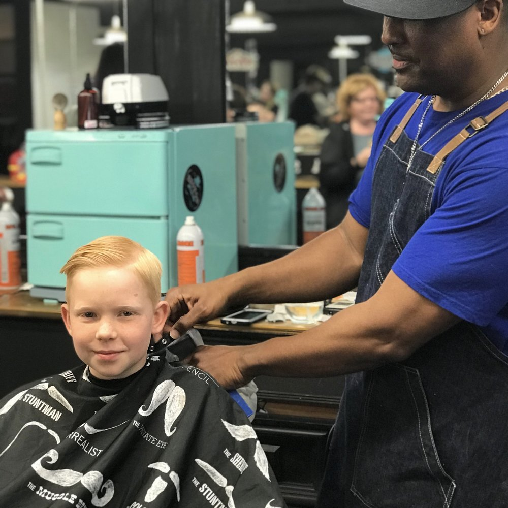 Little Boy's Cut - $14. Basic haircut with clippers or scissors for boys under 12