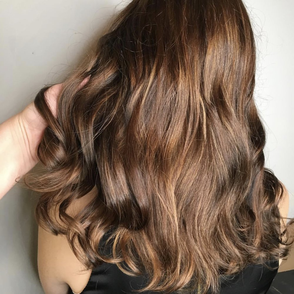 Blow Out - $25+. Shampoo and blow dry style, may include iron work