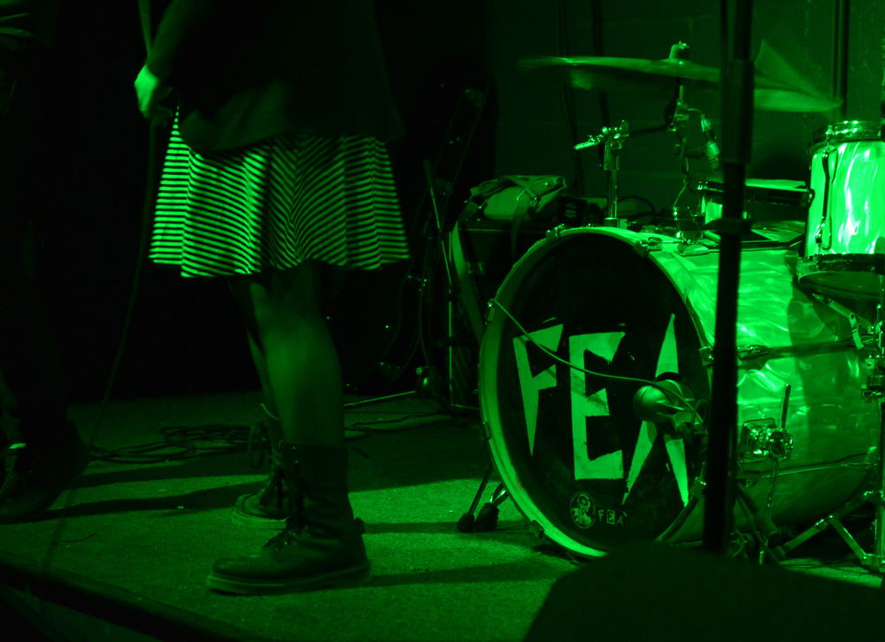 Boots of Letty, lead singer of  San Antonio punk band FEA.