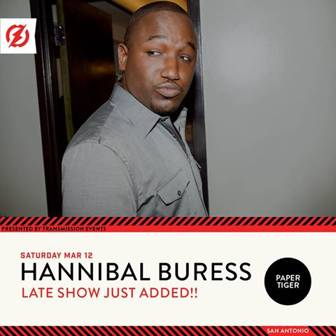 Hannibal Buress at Paper Tiger