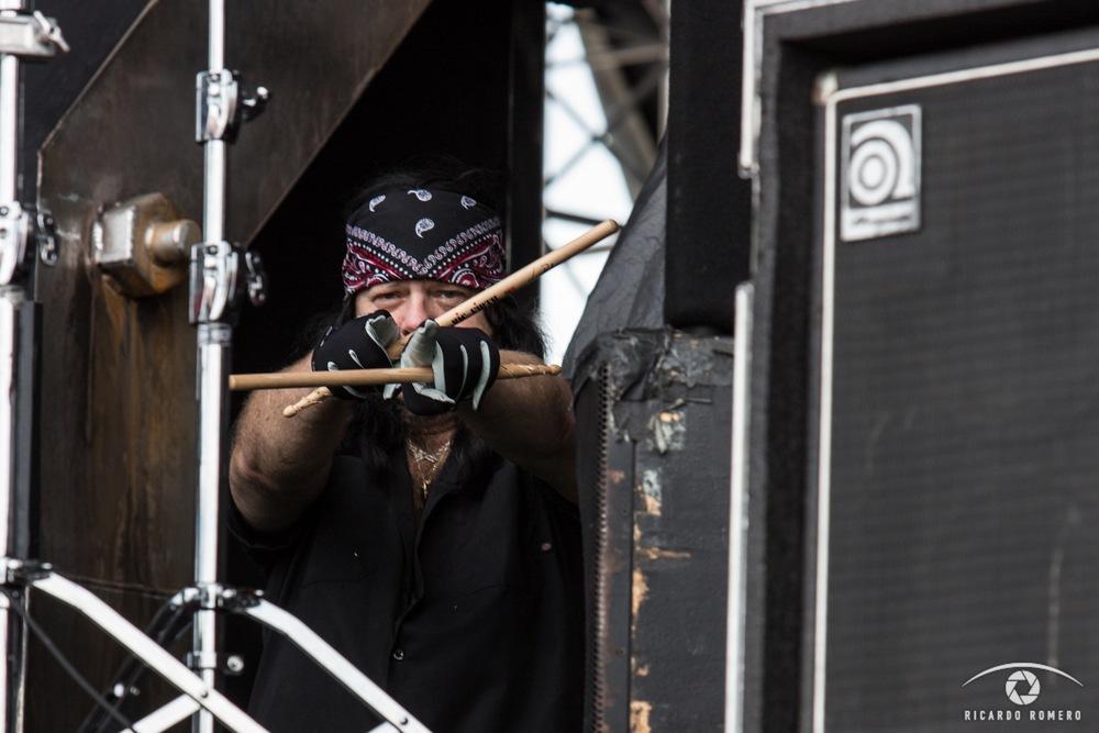 Vinnie Paul of HELLYEAH by Ricardo Romero