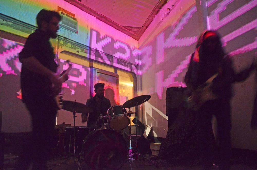 Mockingbird Express performing at K23 Gallery (Photo Alyssa Bunting)