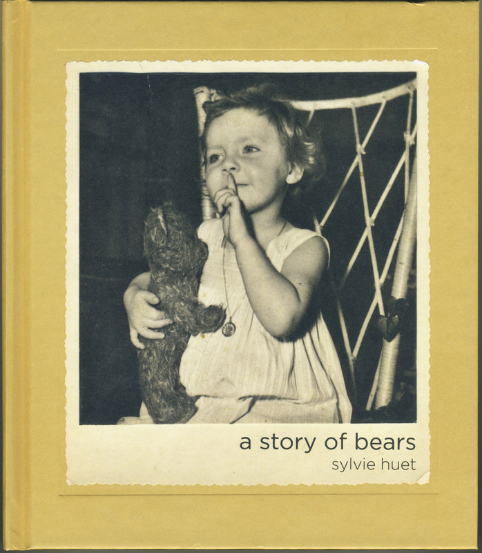 Hardback, 172 pages 40 color photographs by Sylvie Huet 21 b&w archives, courtesy of the families texts : Sylvie Huet and bears owners language : English 170mm x 195mm print run : 1500 publisher: Dewi Lewis Publishing ISBN: 978-1-907893-59-9 Design Caroline Warhurst & Sylvie Huet Print: EBS, Verona, Italy £16.99