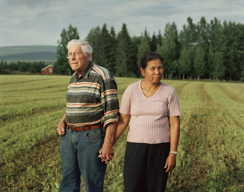 """Birger and Gi, Lögda, 2007 "" From the series The Land Of Queens (2009)"