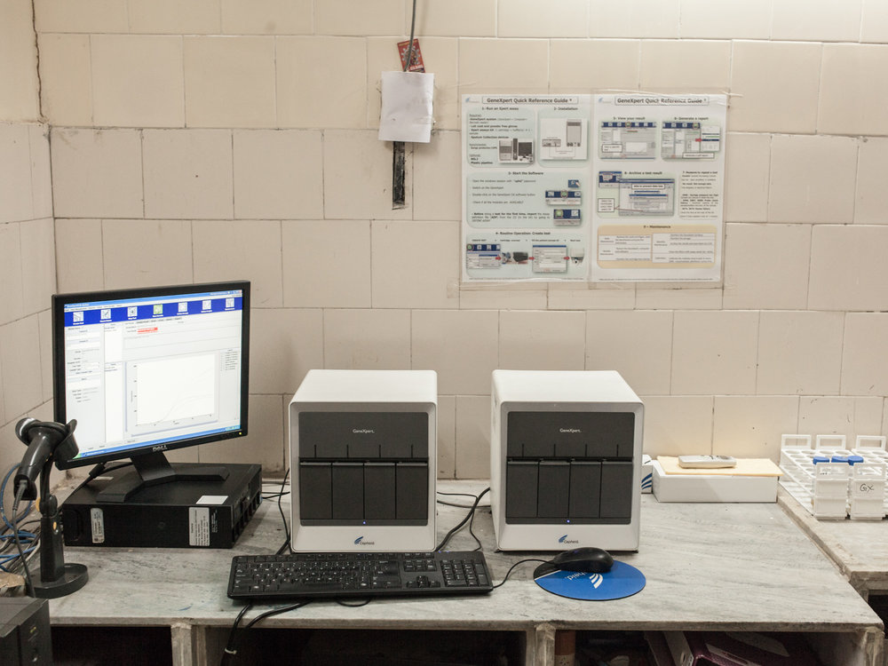 GeneXpert Tuberculosis LOCATION Dharavi Slum, Mumbai, India DESCRIPTION The GeneXpert tuberculosis testing is highly-accurate, users require minimal training, and results are available to health workers within two hours. Since the introduction of GeneXpert testing machines, official tuberculosis numbers in India exploded.