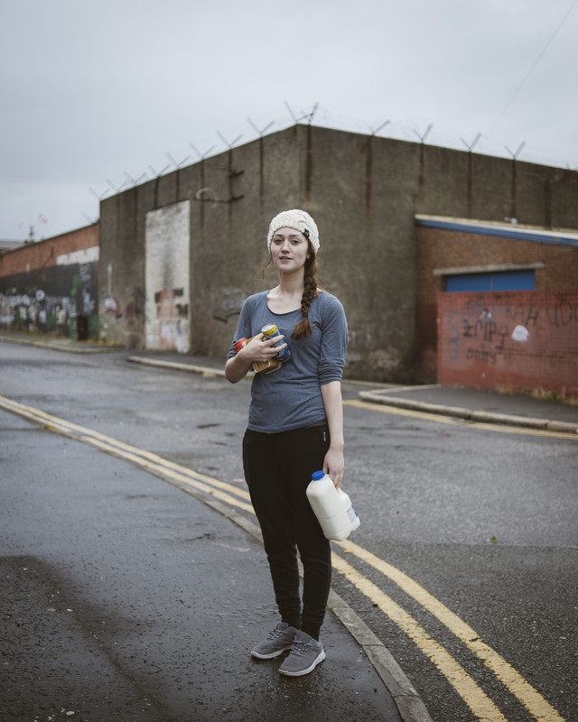 Heidi, Catholic Irish Republican Carrick Hill area, Belfast