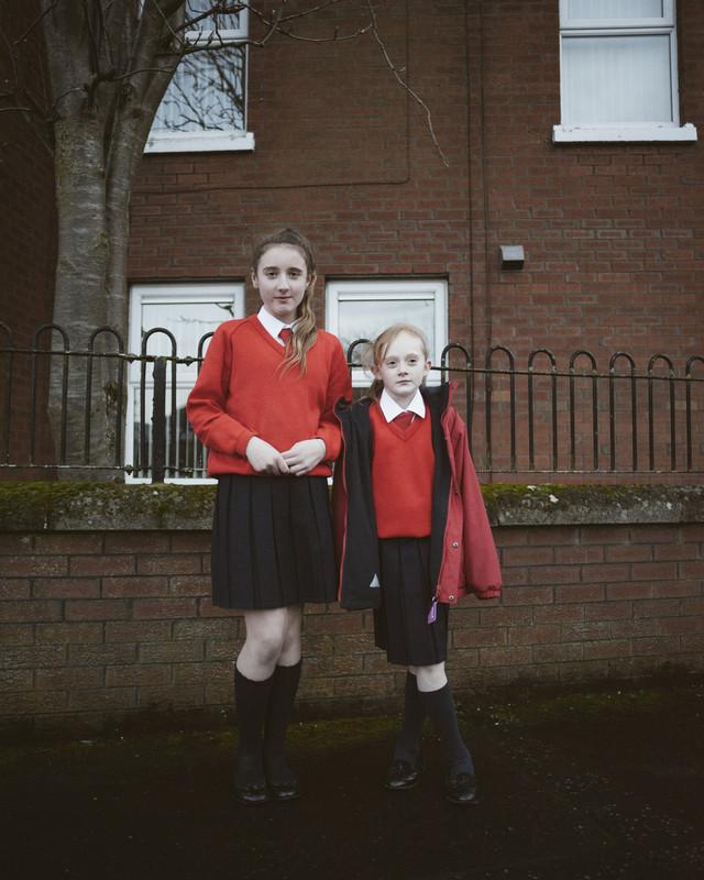 Sisters, Herbert St, Catholic Irish Republican Ardoyne, Belfast