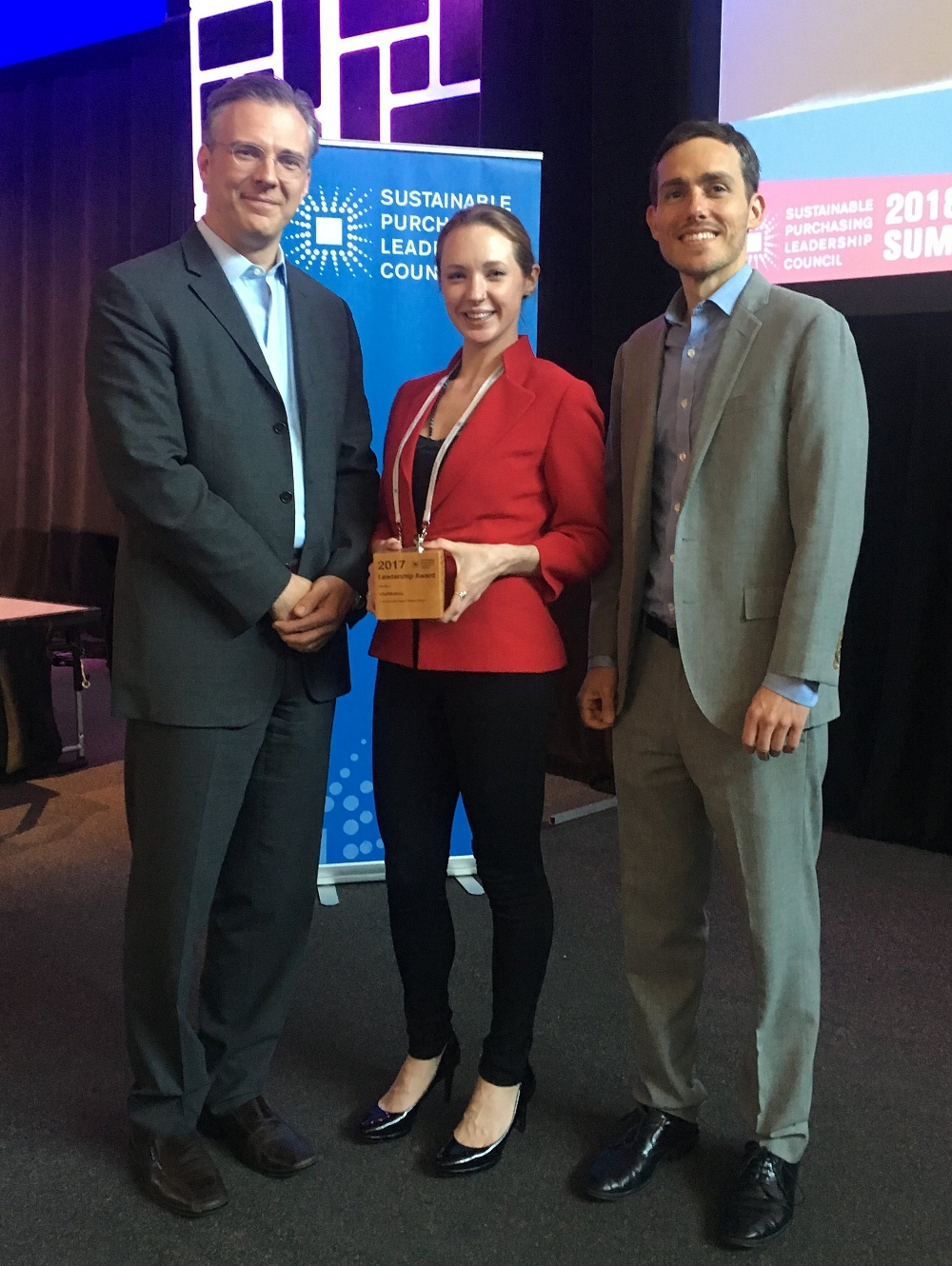 - VitalMetrics participated in the 2018 Sustainable Purchasing Leadership Council Summit in Minneapolis! Our Head of CDP Services and lead data analyst, Summer Broeckx-Smith, attended the summit on behalf of VitalMetrics to receive a Leadership Award for our work on the State Spend Analysis Pilot Project commissioned by the state of California's Department of General Services for fiscal years 2012-2015.Read more about the project here.