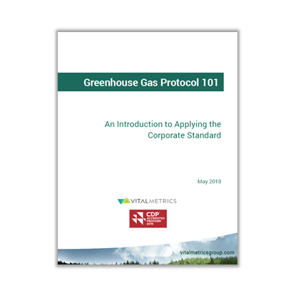 GHG Protocol - Applying the Corporate Standard