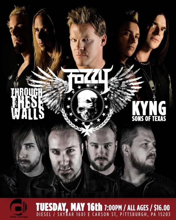 fozzy-through-these-walls