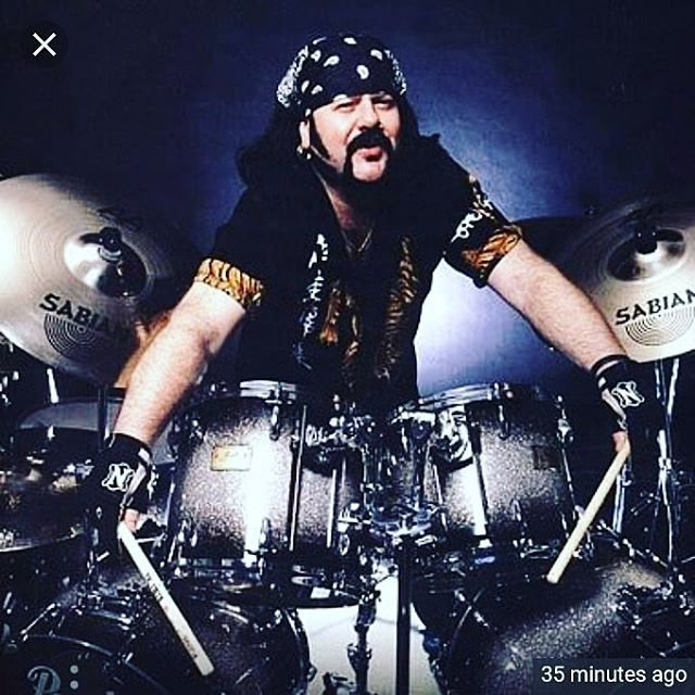 RIP Vinnie Paul. This sucks. Everyone blast some Pantera as loud as possible, and air drum the hell out of your favorite song. 🤘🏻#rip #vinniepaul #pantera #metal