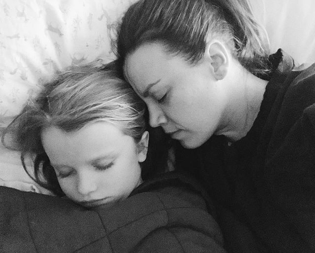 "I don't know how to say it so I'll just say it — we lost a baby this week. * The night after my miscarriage began, my sweet Ella insisted on sleeping in bed with me. Like she knew how bad I needed her by my side. * We had just passed 10 weeks, it was starting to feel real, expecting a babe in September this year. We saw a beautiful heartbeat two weeks before. We were joking about being barefoot and pregnant through the summer. Telling close friends. Peeking back at our old list of names. Buying a sweet ""big sister"" shirt on etsy. Dreaming of our family of four and fall walks wearing a tiny baby on my chest. * This year has been really rough so far and I just don't understand why we keep facing one hard trial after another. I truly believe that our luck will sway back in the other direction eventually. It will. * No one wants to join the miscarriage club. The physical and emotional pain are too much to bear, and it's not openly discussed. This week has felt urgent and confusing and scary at times, and of course, so emotional. * But goodness, we are so grateful for the incredible team of midwives I had just started seeing, and for amazing friends that have dropped everything to help us this week. I feel surrounded by love, and I know I will hold my sweet baby some day. In the meantime, lots of naps and healing and holding my Ella so close. 💛"
