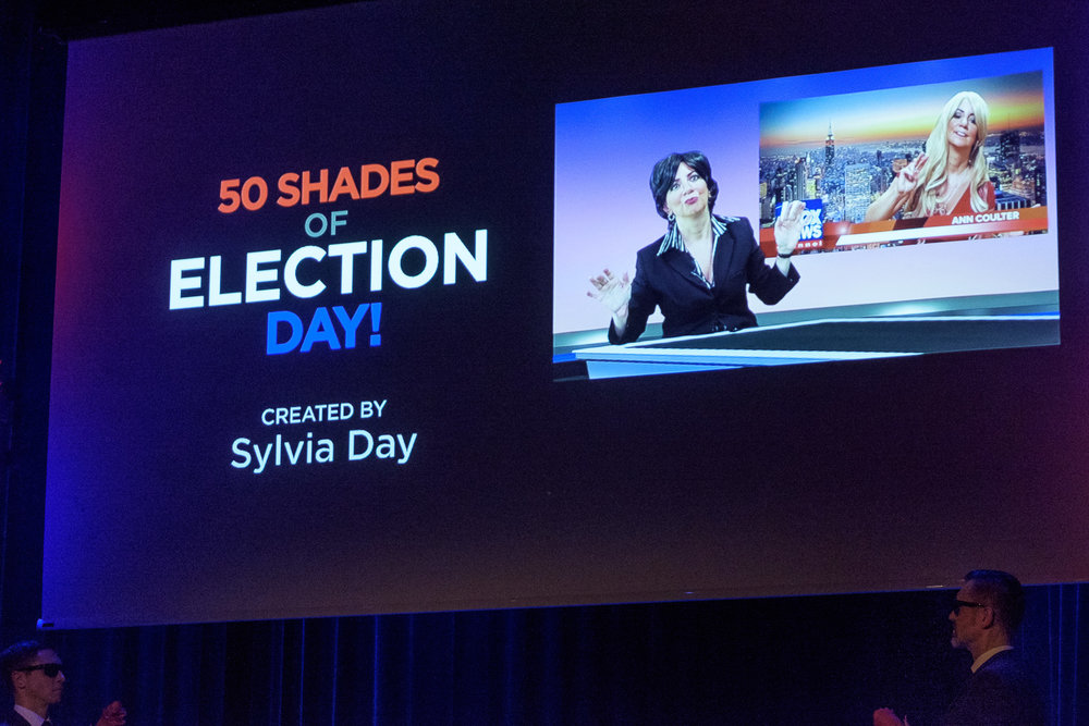 Sylvia Day, 50 Shades of Election Day!