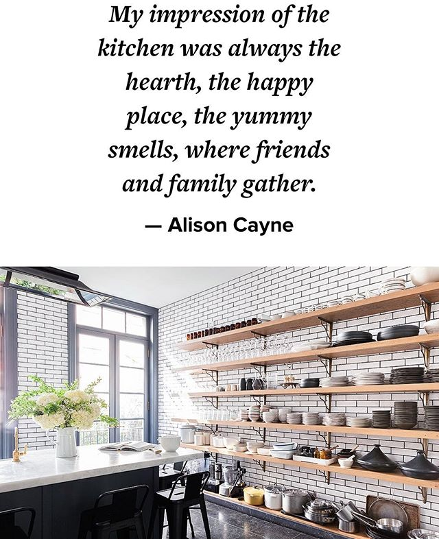 What she said. #kitchenswoon #hearthofthehome #gatheringspot #makeitspecial #decor #design #warmth #nyc #westvillage #interiordesign #DahliasDay #photooftheday #inspired #instagood #love #openshelving #woodtones #potsandpans #largea$$windows #apartmenttherapy
