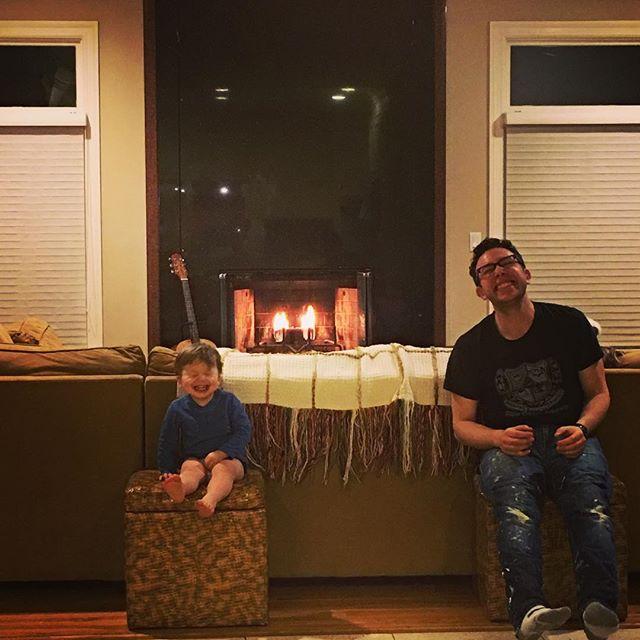 These 2...#snowdaysundays #DahliasDay #myboys #saycheese #smiles #lovethem #flames #cozy #home #heartisdefinitelyhere #longisland #housebeautiful #warmth