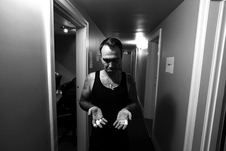 Jorma (The Bronx, Eagles of Death Metal) / Vancouver, British Columbia.
